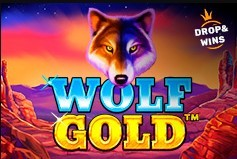Wolf Golf Drop and Wins игра